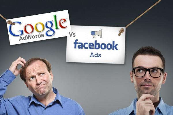 Nên chọn quảng cáo google cho website hay quảng cáo facebook ads ?