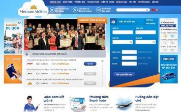 Hướng dẫn Thiết Kế Website Bán Vé Máy Bay
