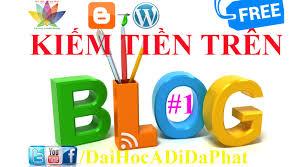 kiem tien tren blog
